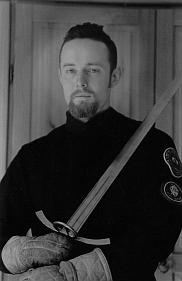 Mr. Guy Windsor, the owner of the School of European Swordsmanship.